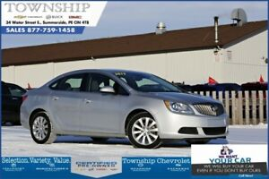 2017 Buick Verano - Factory Warranty - Loaded!