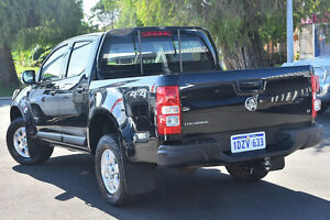 2012 Holden Colorado RG LT (4x4) Black 6 Speed Automatic Crewcab Glendalough Stirling Area Preview