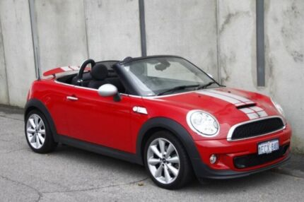 2013 Mini Roadster R59 Cooper S Red 6 Speed Manual Roadster Mount Hawthorn Vincent Area Preview