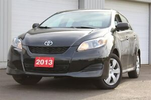 2013 Toyota Matrix -ONE OWNER+ACCIDENT FREE+MANUAL TRANS