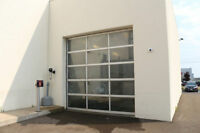 All Glass Garage Doors - 3 Different Sizes - NEW PRICE!