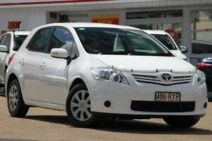 2011 Toyota Corolla ZRE152R MY11 Ascent White 6 Speed Manual Hatchback Woolloongabba Brisbane South West Preview