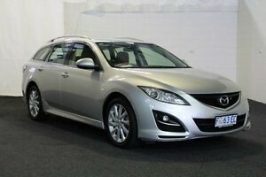2011 Mazda 6 GH MY10 Classic Silver 5 Speed Auto Activematic Wagon Derwent Park Glenorchy Area Preview