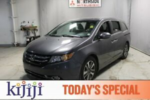 2015 Honda Odyssey TOURING Navigation (GPS),  Leather,