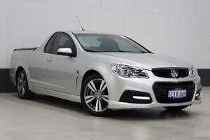 2013 Holden Ute VF SV6 Silver 6 Speed Automatic Utility Bentley Canning Area Preview