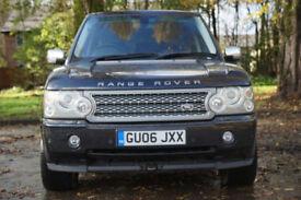 LAND ROVER RANGE ROVER 2.9 TD6 VOGUE 5d Auto (black) 2006