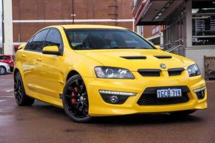 2012 Holden Special Vehicles Clubsport E Series 3 MY12.5 R8 Yellow 6 Speed Sports Automatic Sedan Fremantle Fremantle Area Preview