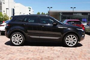 2013 Land Rover Range Rover Evoque L538 MY13 TD4 Pure Black 6 Speed Manual Wagon Osborne Park Stirling Area Preview