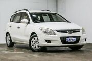 2009 Hyundai i30 FD MY09 SX cw Wagon White 4 Speed Automatic Wagon Welshpool Canning Area Preview