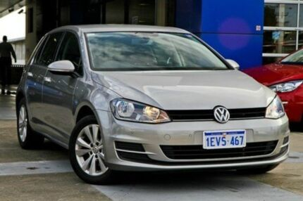 2013 Volkswagen Golf VII MY14 90TSI DSG Tungsten Silver 7 Speed Sports Automatic Dual Clutch Hatchba Myaree Melville Area Preview