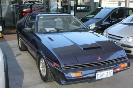 1982 Mitsubishi Starion JA Purplish Blue 5 Speed Manual Liftback