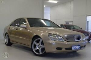 2001 Mercedes-Benz S320 W220 Beige 5 Speed Automatic Sedan Myaree Melville Area Preview