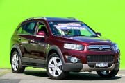 2012 Holden Captiva CG Series II MY12 7 AWD LX Red 6 Speed Sports Automatic Wagon Ringwood East Maroondah Area Preview