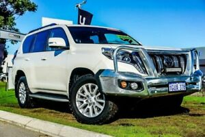 2016 Toyota Landcruiser Prado GDJ150R Kakadu White 6 Speed Sports Automatic Wagon Wangara Wanneroo Area Preview