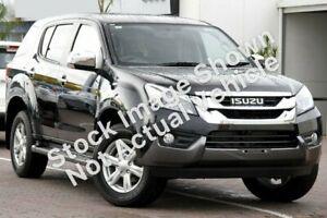 2017 Isuzu MU-X MY16.5 LS-U Rev-Tronic 4x2 Black 6 Speed Sports Automatic Wagon Port Macquarie Port Macquarie City Preview