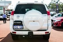 2011 Toyota Landcruiser Prado KDJ150R VX White 5 Speed Sports Automatic Wagon Balcatta Stirling Area Preview