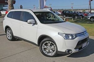 2015 Mitsubishi Outlander ZJ MY14.5 LS 2WD White 6 Speed Constant Variable Wagon Pearsall Wanneroo Area Preview