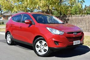 2011 Hyundai ix35 LM MY12 Active Red 5 Speed Manual Wagon St Marys Mitcham Area Preview
