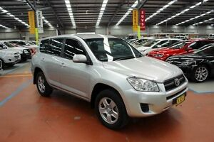 2012 Toyota RAV4 ACA33R MY12 CV Silver 4 Speed Automatic Wagon Maryville Newcastle Area Preview