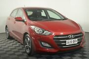 2015 Hyundai i30 GD3 Series II MY16 Active Red 6 Speed Sports Automatic Hatchback Edwardstown Marion Area Preview