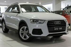 2015 Audi Q3 8U MY16 TFSI S tronic White 6 Speed Sports Automatic Dual Clutch Wagon North Melbourne Melbourne City Preview