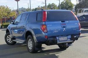 2007 Mitsubishi Triton ML MY07 GLX-R Double Cab Blue 4 Speed Automatic Utility Springwood Logan Area Preview