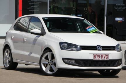 2011 Volkswagen Polo 6R MY11 66TDI DSG Comfortline White 7 Speed Sports Automatic Dual Clutch Kippa-ring Redcliffe Area Preview
