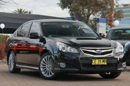 2011 Subaru Liberty MY11 2.5I Premium Black Continuous Variable Sedan Rosebery Inner Sydney Preview