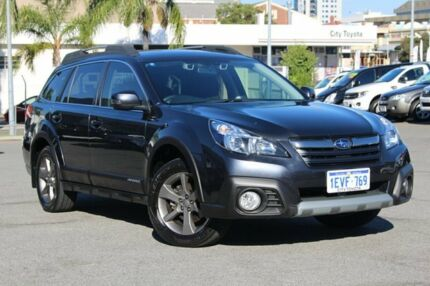 2014 Subaru Outback B6A MY15 2.5i CVT AWD Premium Grey 6 Speed Constant Variable Wagon