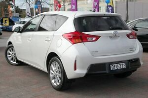 2014 Toyota Corolla ZRE182R Ascent Sport White 7 Speed CVT Auto Sequential Hatchback Waitara Hornsby Area Preview