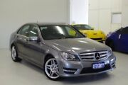 2011 Mercedes-Benz C250 CDI W204 MY11 BlueEFFICIENCY 7G-Tronic Avantgarde Silver 7 Speed Myaree Melville Area Preview