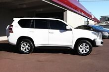 2015 Toyota Landcruiser Prado KDJ150R MY14 GXL White 5 Speed Sports Automatic Wagon Northbridge Perth City Preview