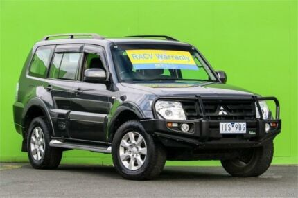 2013 Mitsubishi Pajero NW MY13 GLX-R Grey 5 Speed Sports Automatic Wagon Ringwood East Maroondah Area Preview