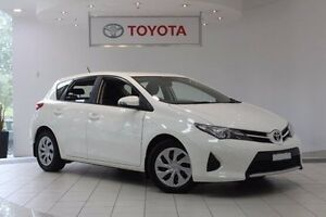 2014 Toyota Corolla ZRE182R Ascent S-CVT Glacier White 7 Speed Constant Variable Hatchback Waterloo Inner Sydney Preview