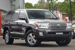 2014 Toyota Landcruiser VDJ200R MY13 Sahara Grey 6 Speed Sports Automatic Wagon Waitara Hornsby Area Preview
