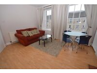 Delightful 2nd floor 1 bedroom furnished flat off Ferry Road, available January – NO FEES