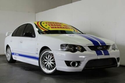 2003 Ford Falcon BA XT White 4 Speed Auto Seq Sportshift Sedan Underwood Logan Area Preview