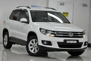 2013 Volkswagen Tiguan 5NC MY14 103 TDI Pacific White 7 Speed Automatic Wagon Chatswood West Willoughby Area Preview