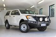 2012 Mazda BT-50 UP0YF1 XT White 6 Speed Manual Utility Melville Melville Area Preview