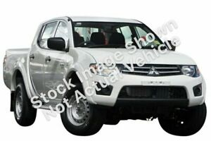 2012 Mitsubishi Triton MN MY12 GLX Double Cab White 4 Speed Automatic Utility Myaree Melville Area Preview