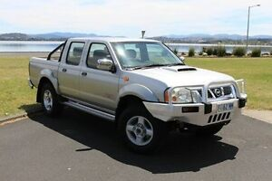 2008 Nissan Navara D22 MY2008 ST-R Silver 5 Speed Manual Utility Invermay Launceston Area Preview