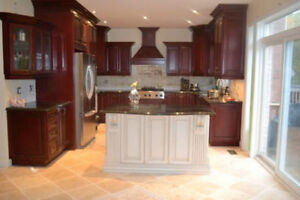 **Solid Wood, Top Quality Kitchen Cabinets**