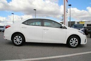 2015 Toyota Corolla White Constant Variable Sedan