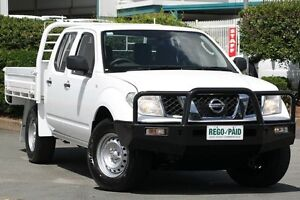 2011 Nissan Navara D40 MY11 RX Polar White 6 Speed Manual Cab Chassis Acacia Ridge Brisbane South West Preview