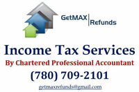 GetMAX Refunds Income Tax Services by CPA, CGA