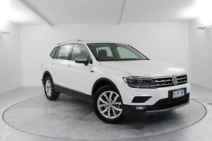 2018 Volkswagen Tiguan 5N MY18 110TSI Comfortline DSG 2WD Allspace White 6 Speed Launceston Launceston Area Preview