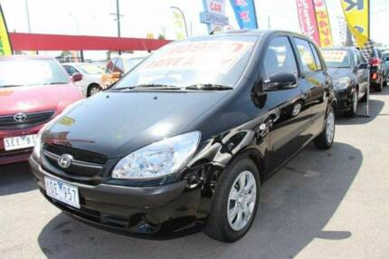 From only $34/wk on finance for zippy 2011 Hyundai Getz Hatchback Hughesdale Monash Area Preview