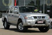 2011 Nissan Navara D22 S5 ST-R Silver 5 Speed Manual Utility Kippa-ring Redcliffe Area Preview