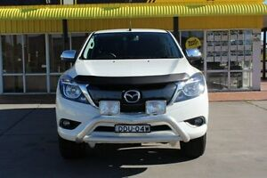 2016 Mazda BT-50 UR0YG1 GT Cool White 6 Speed Sports Automatic Utility Telarah Maitland Area Preview