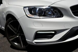 2014 Volvo V60 F Series MY15 T5 Geartronic R-Design Ice White 8 Speed Sports Automatic Wagon Mosman Mosman Area Preview
